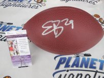 Eric Berry signed Wilson NFL football JSA COA Kansas City KC Chiefs Tennessee Vols
