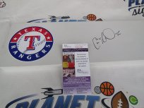 Cole Hamels Signed Texas Rangers Official MLB Authentic Pitching Rubber JSA COA