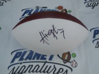 Ali Highsmith signed Wilson NFL football COA LSU Tigers Arizona Cardinals