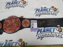 Enzo Amore and Colin Cassady (Big Cass) dual signed WWE World Tag Team Championship belt JSA COA