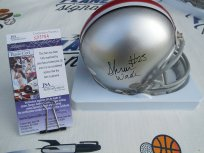 Shawn Wade Signed Ohio State OSU Buckeyes Bucks Mini Helmet JSA COA